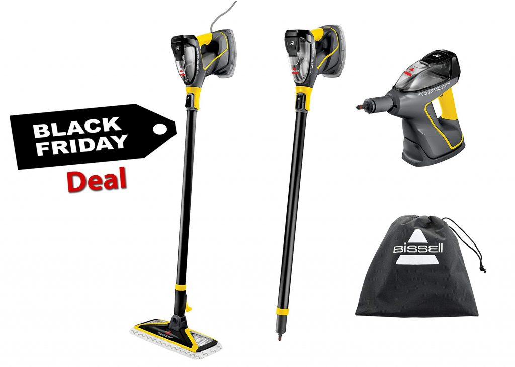 Bissell Heavy-duty 3-in-1 Steam Cleaner Black Friday Deal reviews